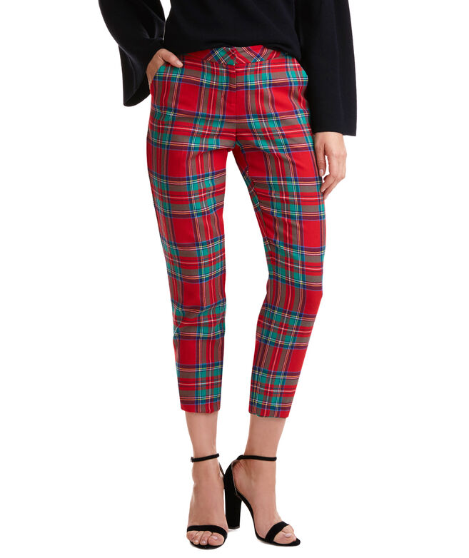 Jolly Plaid Cocktail Pants