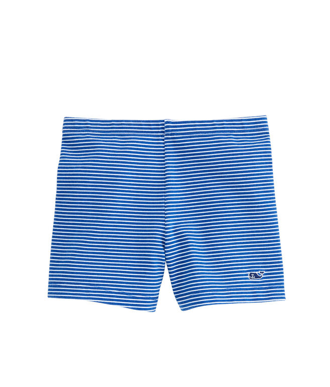 Girls Fine Line Stripe Tumble Shorts