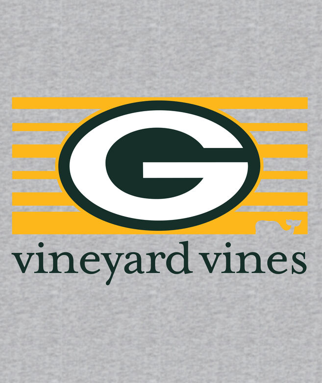 Adult Packers Long-Sleeve Block Stripe T-Shirt