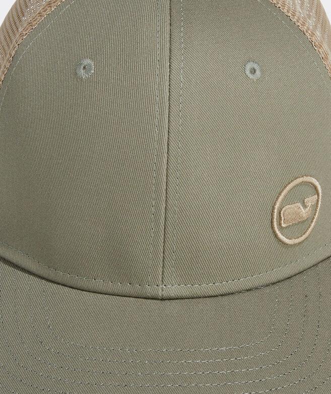 Side Hit Whale Dot Performance Trucker Hat