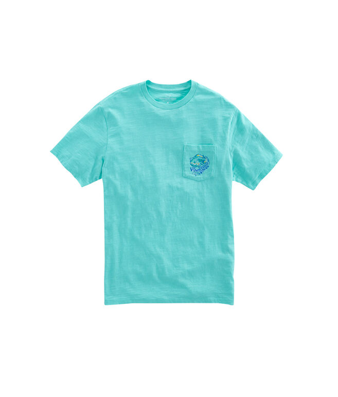 Slub Painted Mahi Pocket T-Shirt
