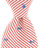 Whales & Stripes Tie