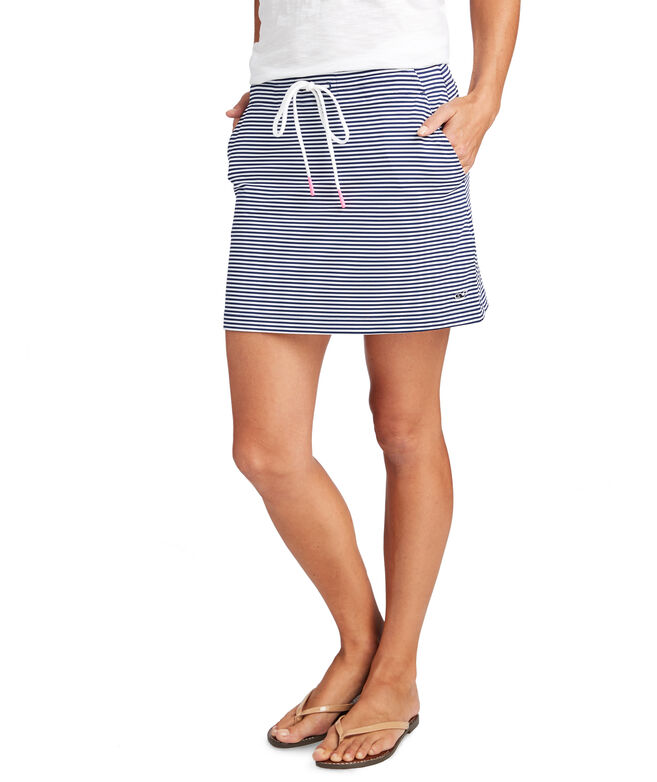 Striped Sankaty Pull On Skirt
