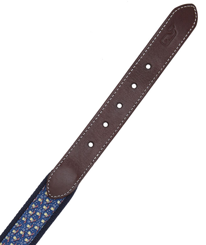 Big & Tall Shotski Canvas Club Belt