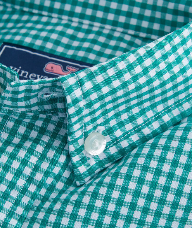 Old Town Gingham Whale Shirt