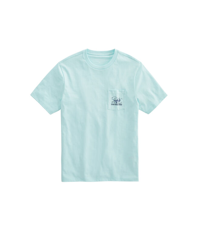 Fishing For Marlin Short-Sleeve Pocket Tee