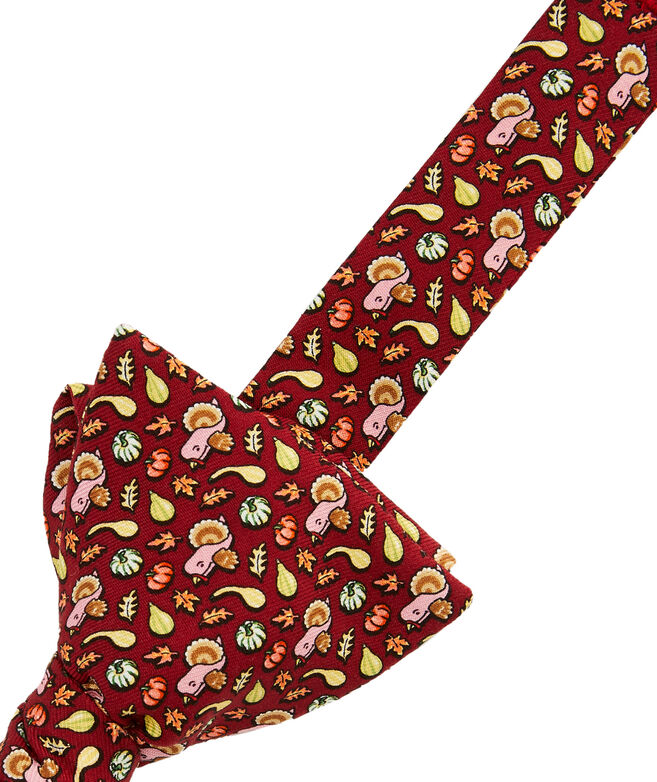 Gourds & Turkey Printed Bow Tie