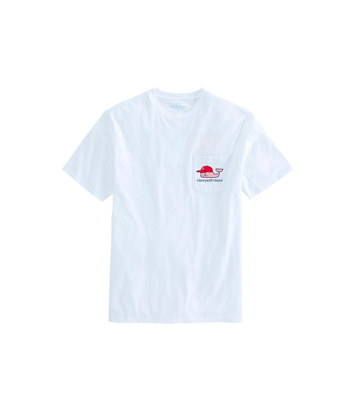 Shop Adult St Louis Cardinals Baseball Cap Pocket T Shirt At Cardinal Girl Navy Xl Zoom In