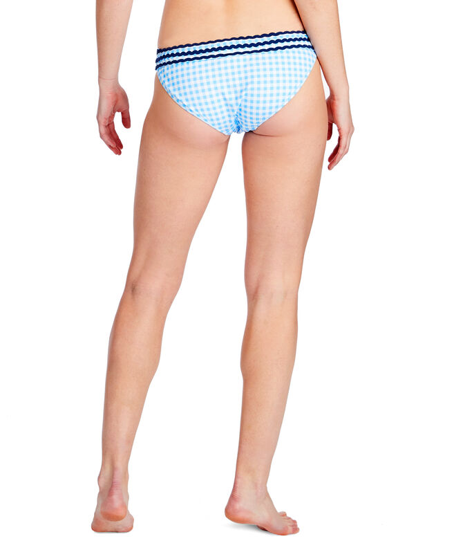 Gingham Ric Rac Bottom