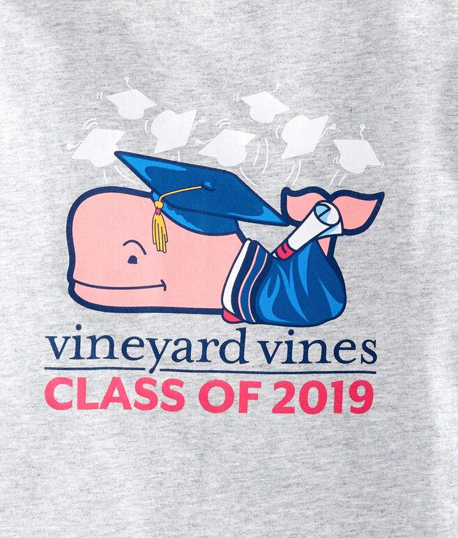 Girls Long-Sleeve Graduation Whale 2019 Pocket Tee