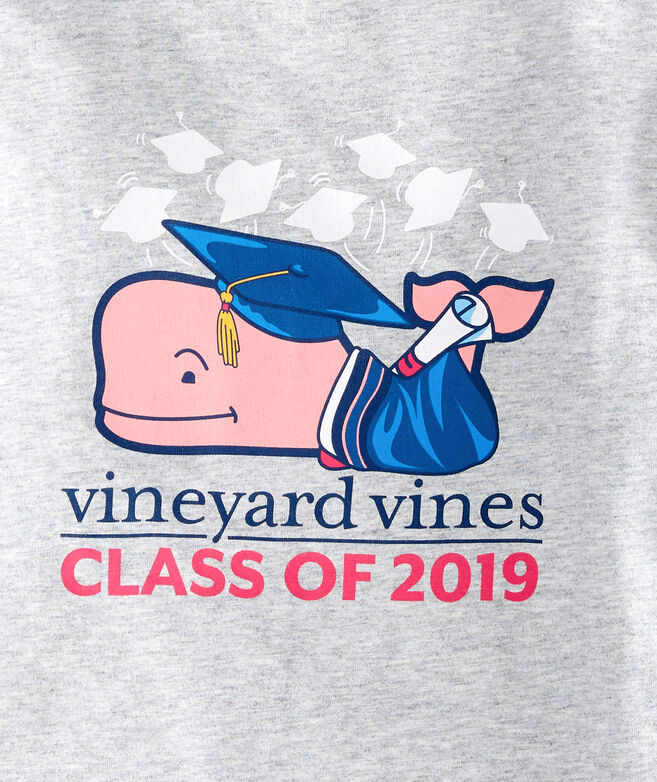 Girls Long-Sleeve Graduation Whale 2019 Pocket Tee