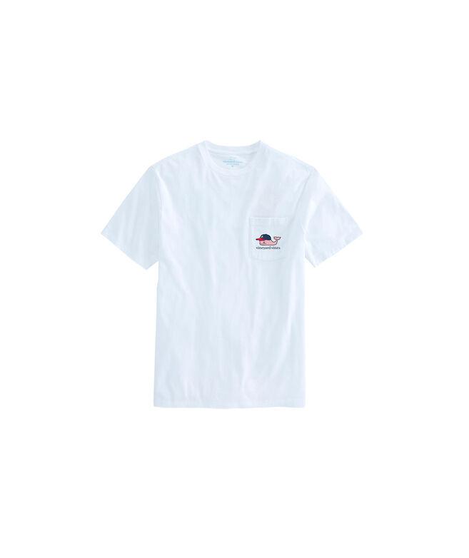 Kids Atlanta Braves Baseball Cap Pocket T-Shirt