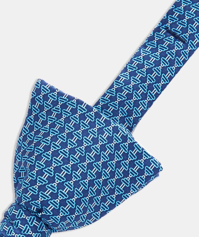 Barbells Printed Bow Tie