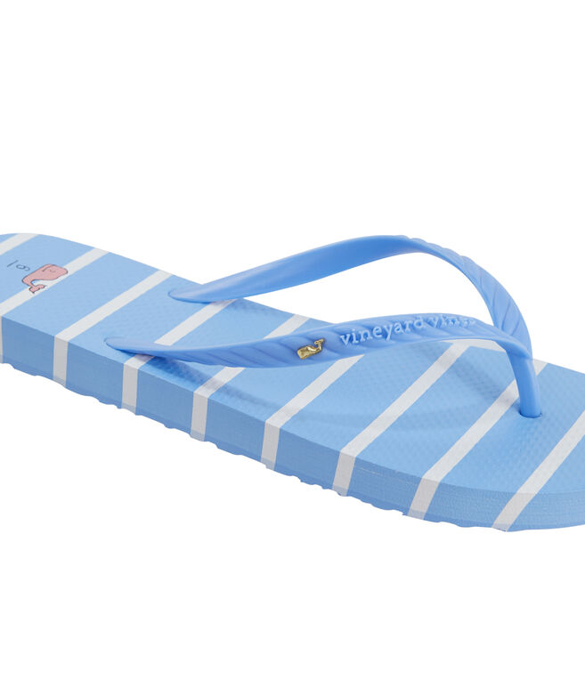 Break Stripe Womens Flip Flops