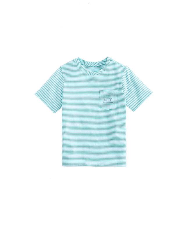Boys Edgartown Shep Stripe Vintage Whale T-Shirt