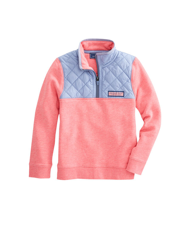 Boys Quilted Nylon Shep Shirt