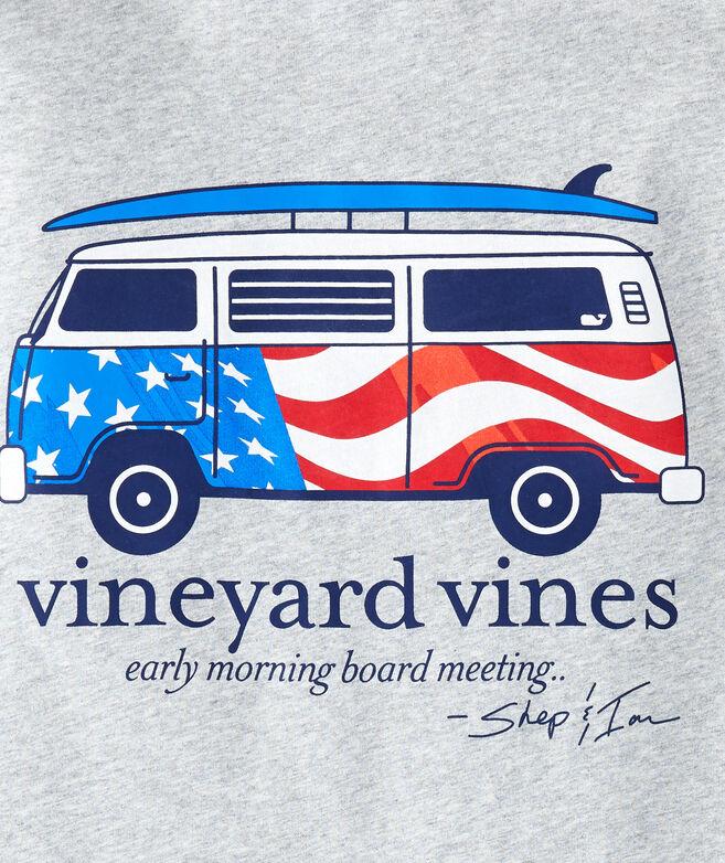 USA Bus & Board Long-Sleeve T-Shirt