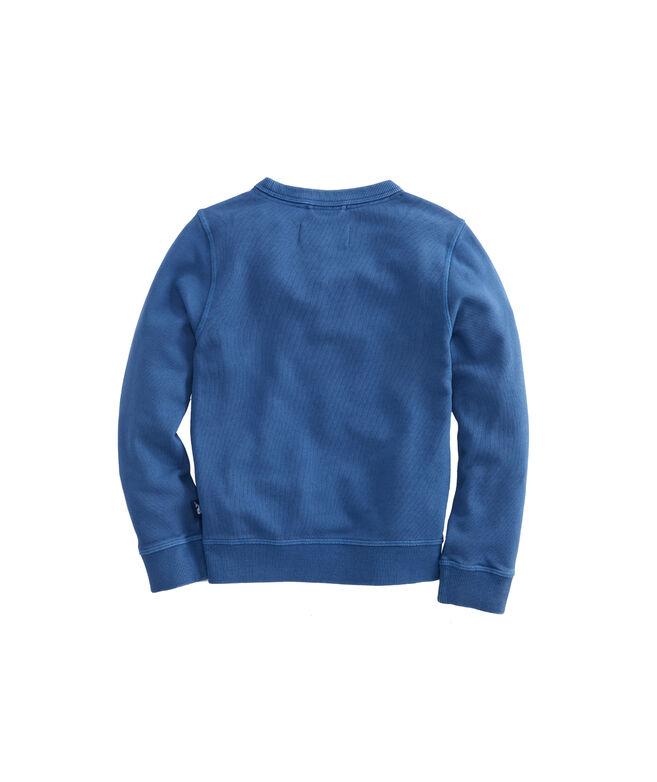 Boys Garment Dye Crewneck Sweatshirt