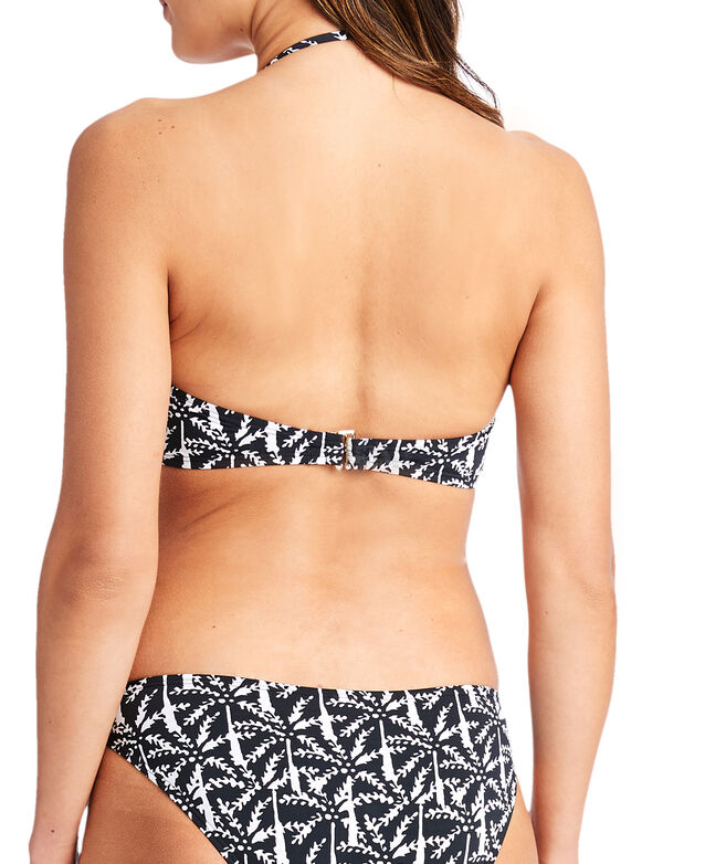 Allover Palm Bandeau Top