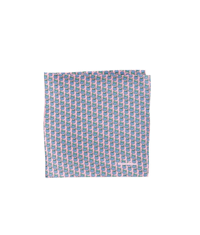 Hydrangea Pocket Square