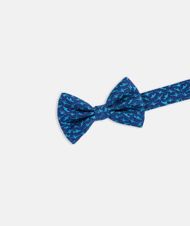 Boys' Jet Set Printed Bow Tie