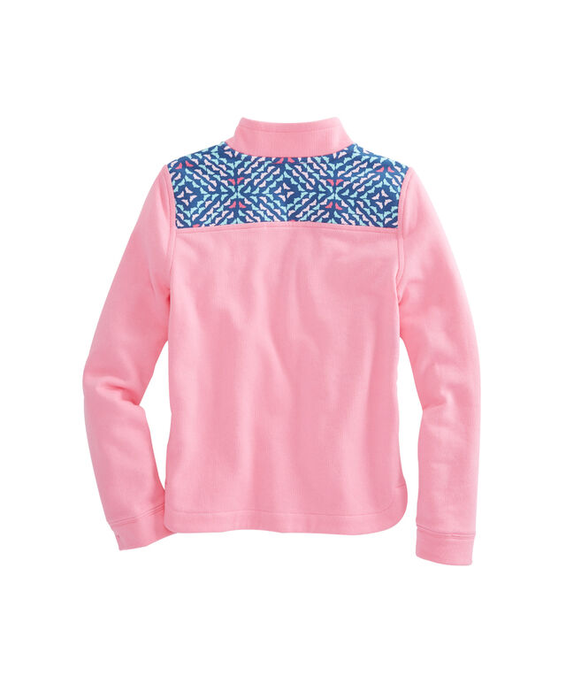 Girls Whale Tail Square Relaxed Shep Shirt