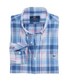 Seven Miles Plaid Slim Tucker Shirt