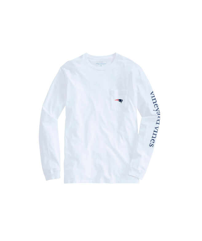 New England Patriots Long- Sleeve 4X4 Men's T-shirt