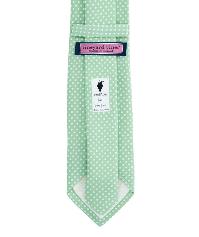 Whale Dot Printed Tie