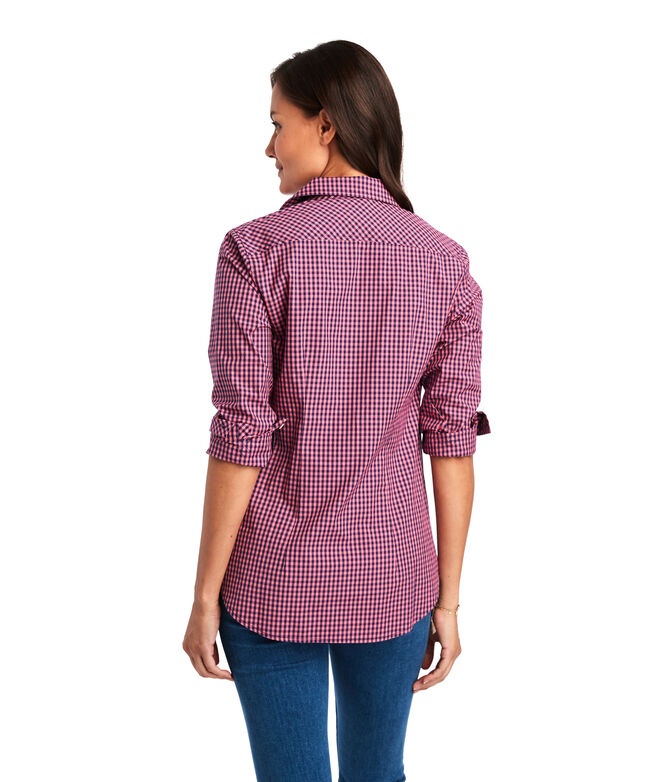 Alicetown Gingham Chilmark Classic Button Down