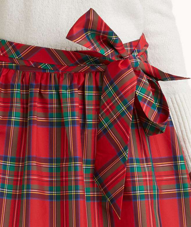 4c2226cf47 Jolly Plaid Taffeta Party Skirt