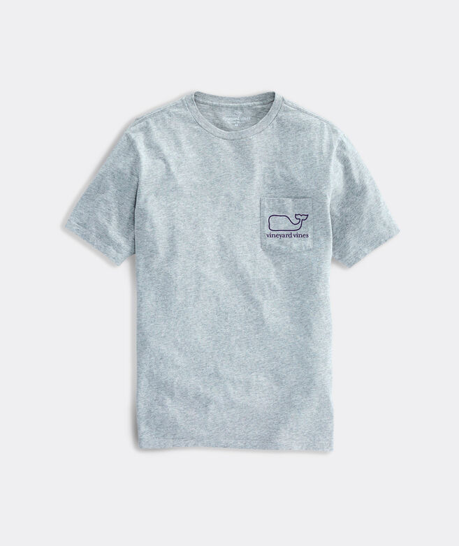 V V Whale Short-Sleeve Pocket Tee