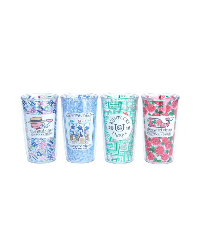 Kentucky Derby Tervis Tumblers (Set of 4)