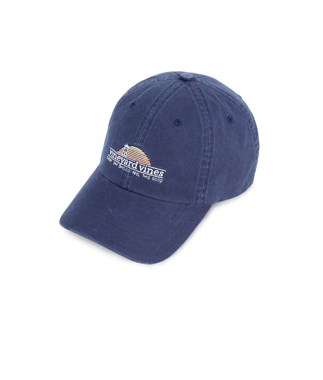 Sunset Lighthouse Classic Twill Hat