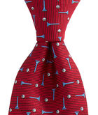 Kennedy Golf Balls & Tees Toss Skinny Tie