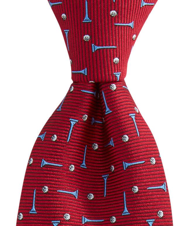 Kennedy Golf Balls & Tees Toss Skinny Tie