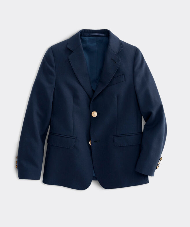 Kids' Stretch Navy Blazer (2T-7)