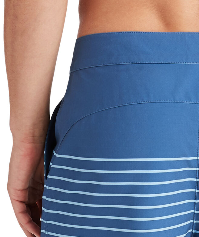 Salt Marsh Striped Board Shorts