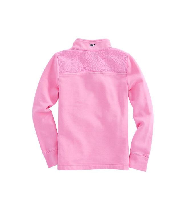 Girls Seersucker Snap Placket Shep Shirt