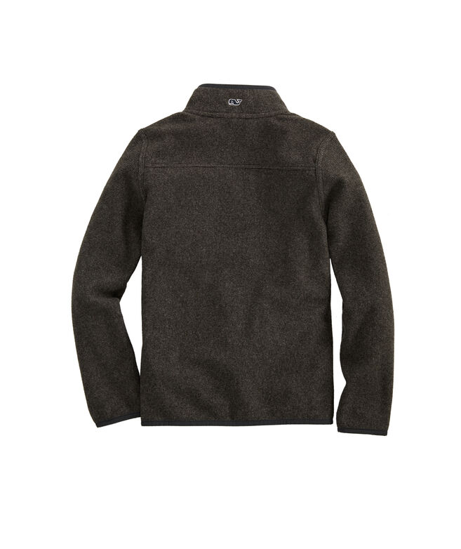 Boys Snap Placket Fleece Shep Shirt