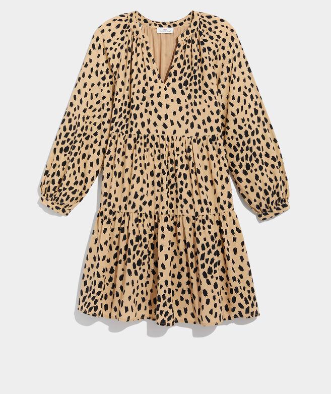 Leopard Tiered Dress