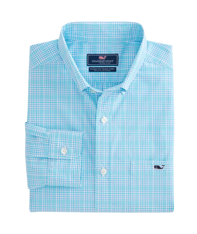 Rolling Harbor Plaid Classic Stretch Tucker Shirt