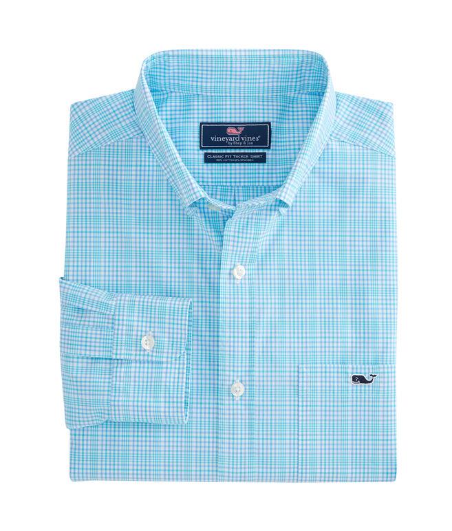 Rolling Harbor Plaid Classic Stretch Tucker Shirt