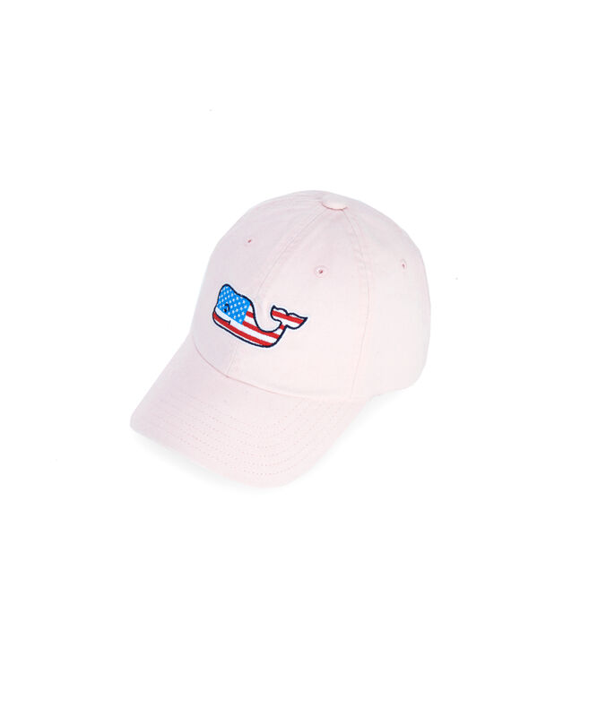 Little Kids Flag Whale Baseball Hat