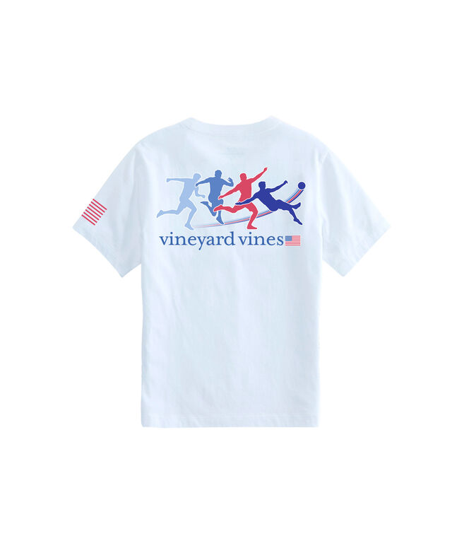 Boys Kick Motion Pocket T-Shirt