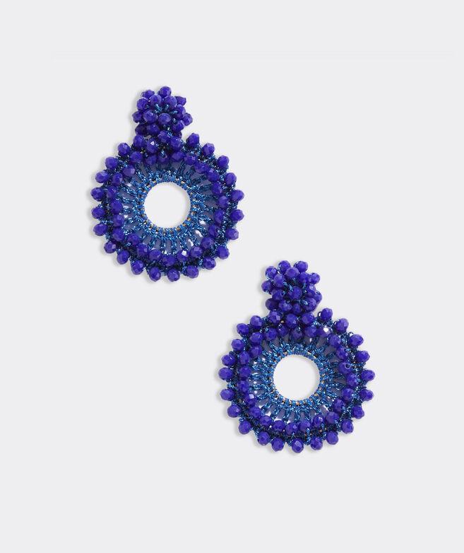 Woven Beaded Earrings