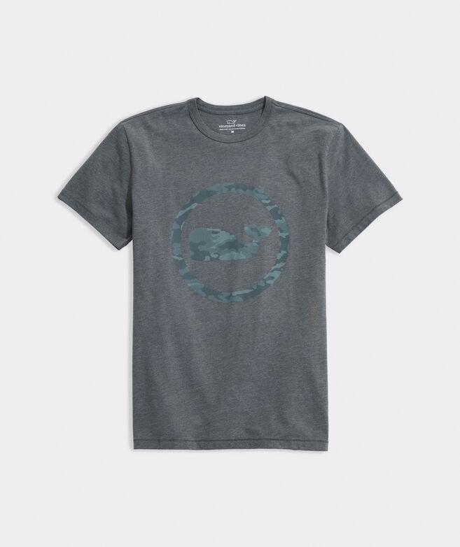 Camo Whale Dot Short-Sleeve Dunes Tee
