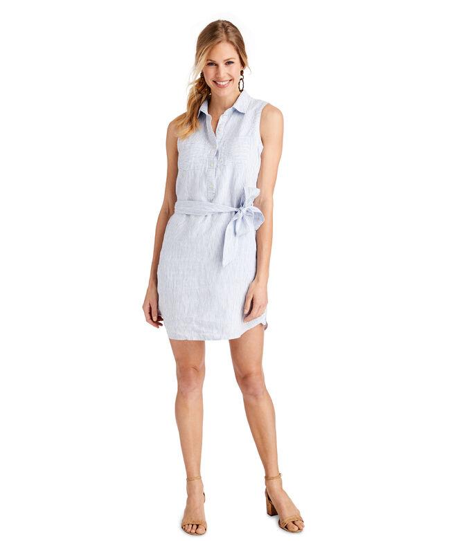 Fine Striped Margo Shirt Dress