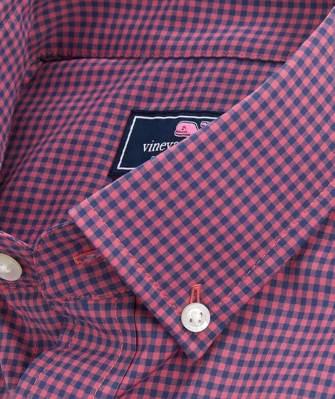 Classic Fit Lisbon On-The-Go Performance Tucker Shirt