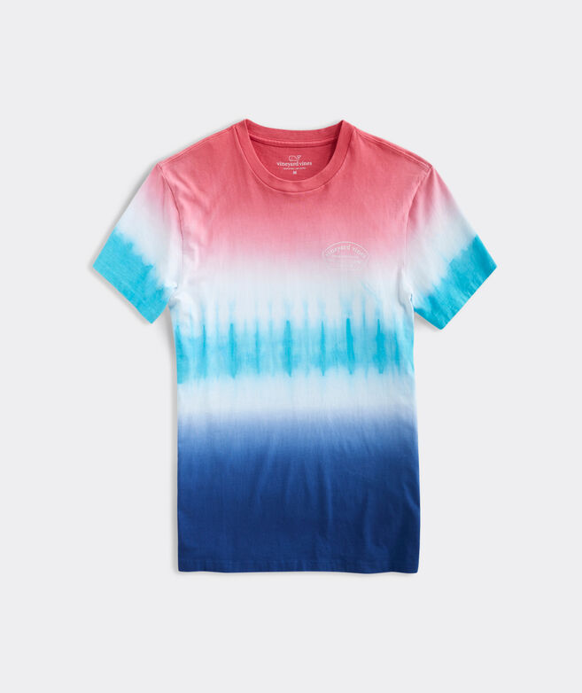 Tie-Dyed Short-Sleeve Tee